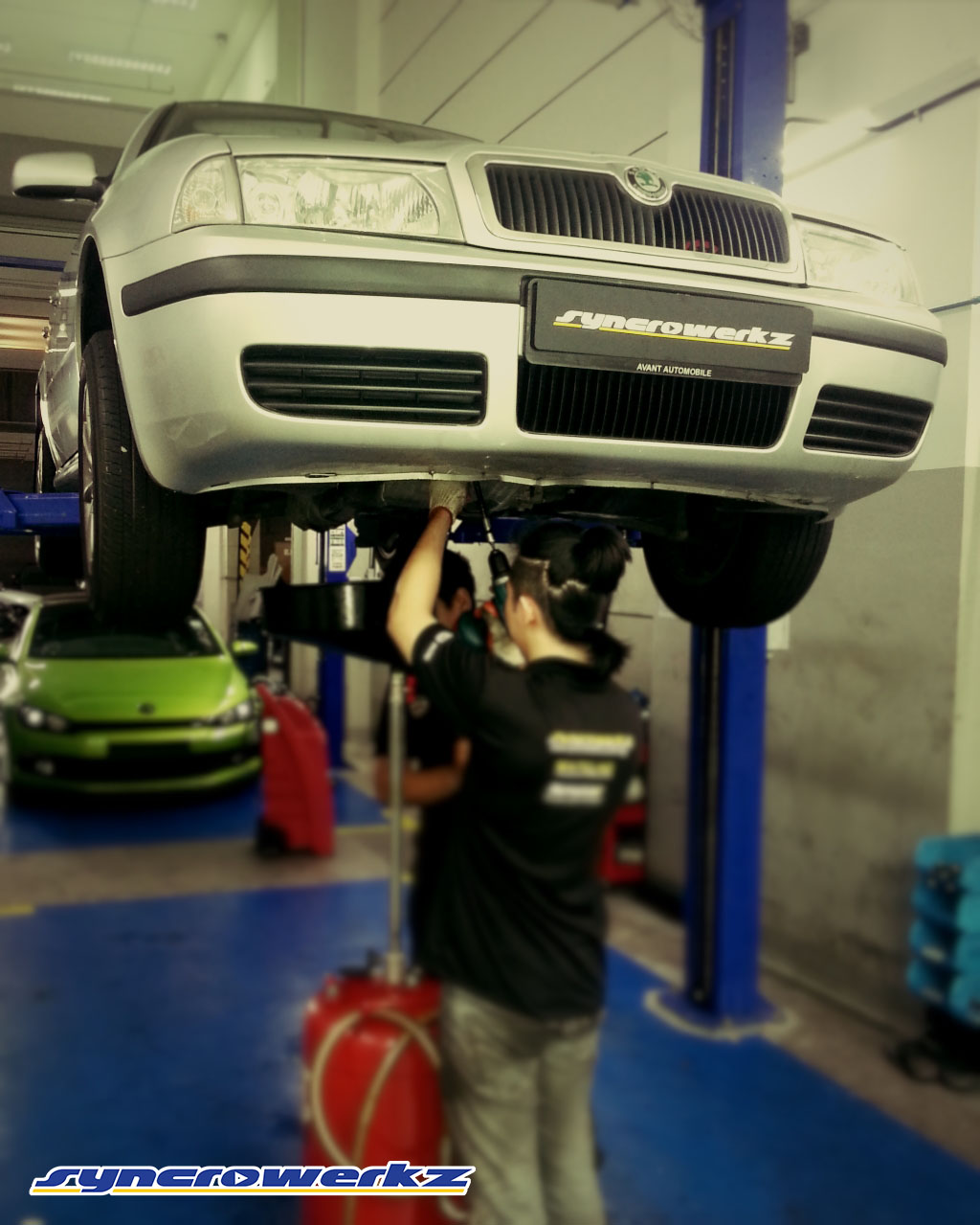Skoda Octavia choosing our Standard Servicing Package to provide the protection his Skoda requires