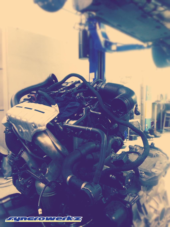 Volkswagen Jetta 1.4 Engine on the floor