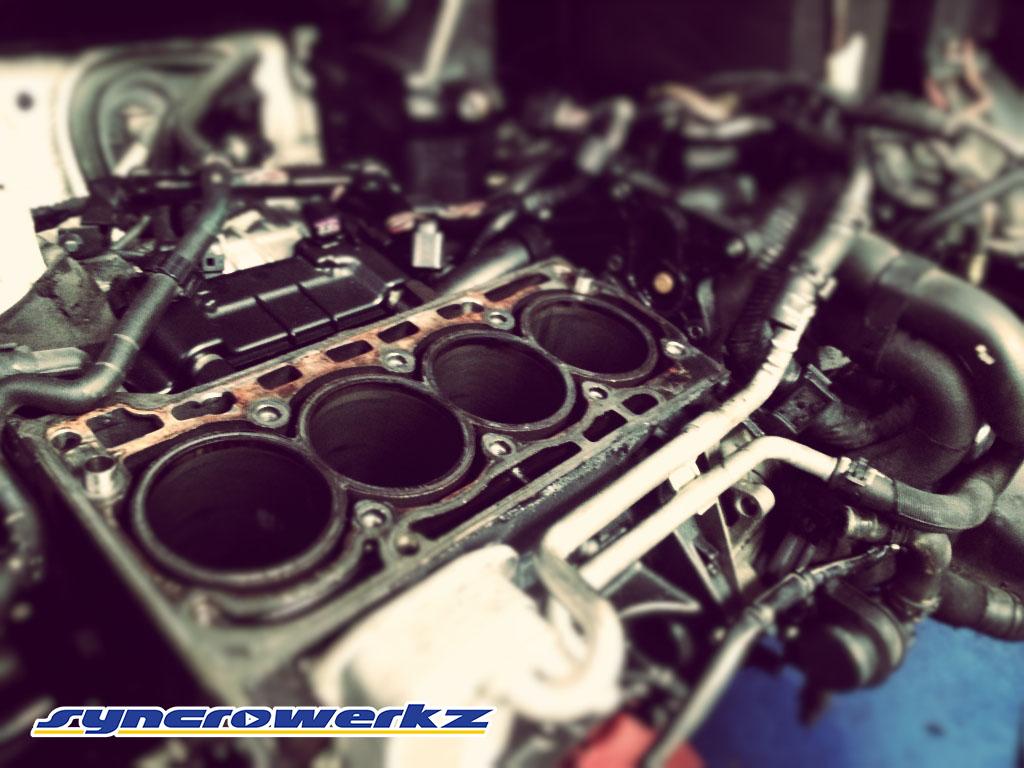 Volkswagen Jetta 1.4 Engine without Pistons